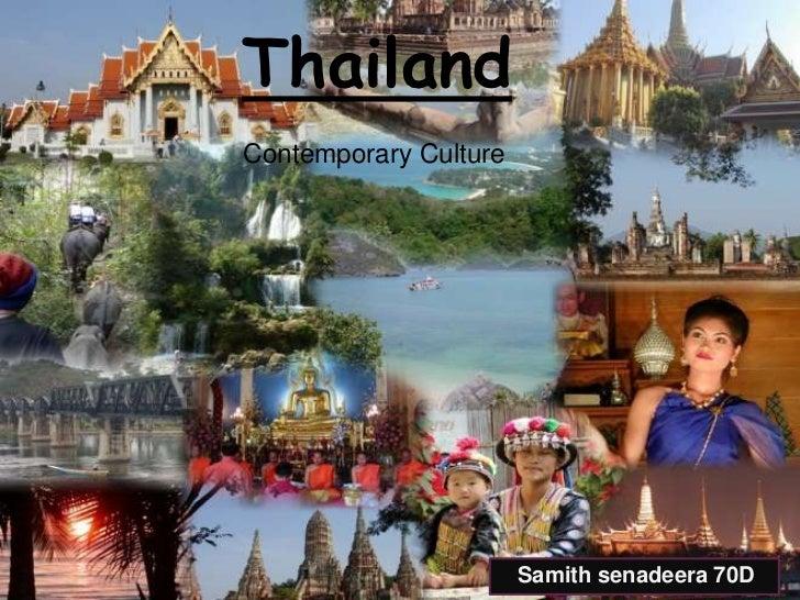 ThailandContemporary Culture                       Samith senadeera 70D