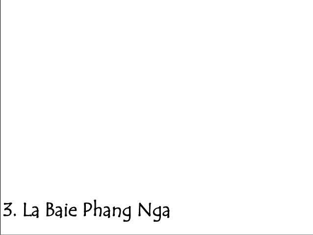 3. La Baie Phang Nga