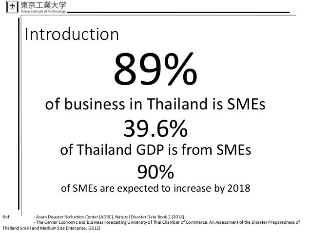 Thailand Business Risk Assessment For Disaster Management, Patcharava…