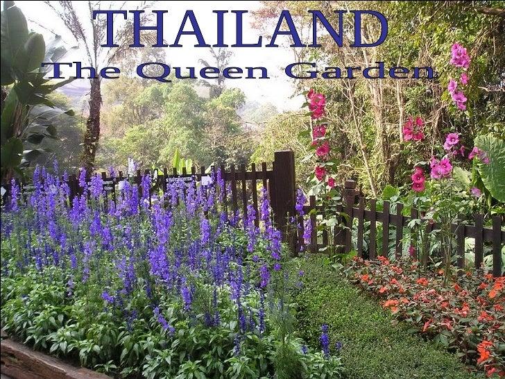 THAILAND The Queen Garden