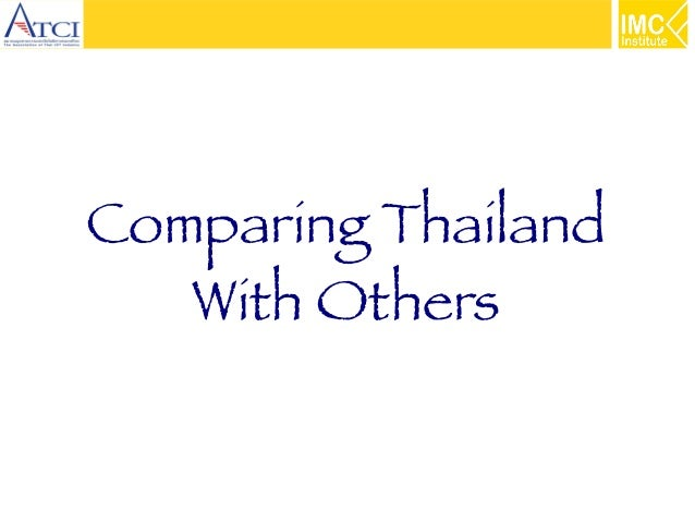 Comparing Thailand With Others
