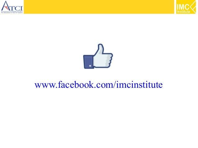 www.facebook.com/imcinstitute