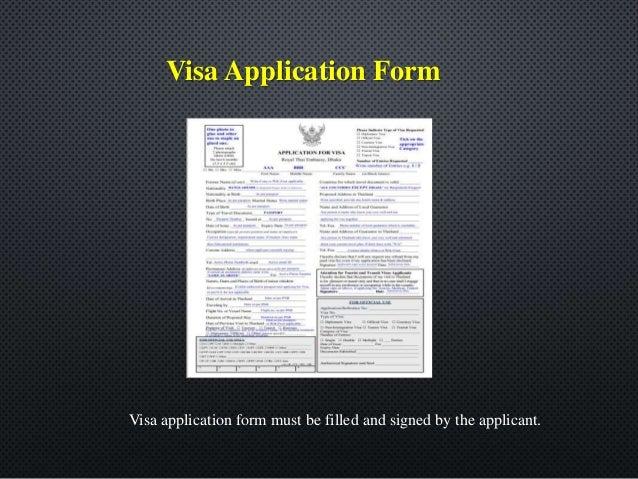 Thailand Tourist Visa 2018 How To Prepare Thai Visa Documents From