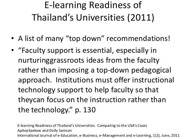 http://www.slideshare.net/terrya/new-pedagogies-new-technologies-disruptive-threats-to-open-universities or http://tinyurl...
