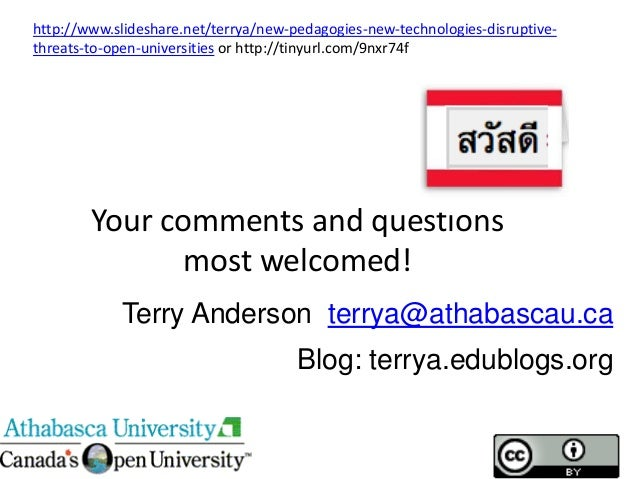Thailand 2013 keynote