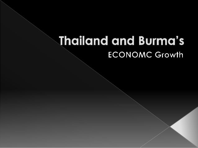  1962, Burma's economy, as its political system, has been under the strict control of the government  The state plays a ...