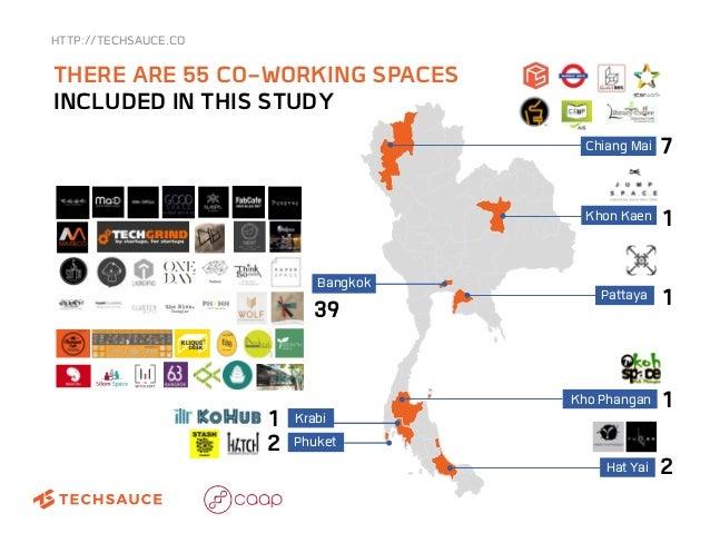 Thailand coworking survey by techsauce & CAAP Slide 2