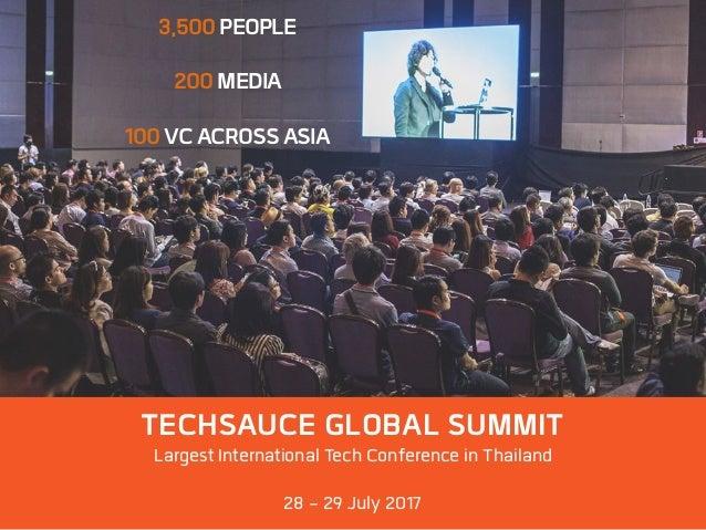 Thailand Fintech landscape 2016 special report by techsauce  Slide 3