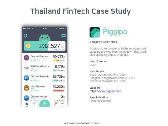 Thailand FinTech Case Study Company Description Omise is Thailand's leading online payment gateway offering a wide range ...