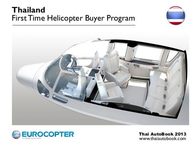 ThailandFirst Time Helicopter Buyer Program                                      Thai AutoBook 2013                       ...