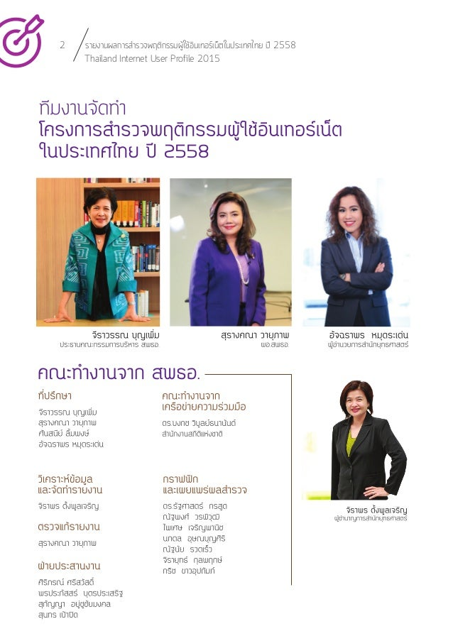 Thailand Internet User Profile 2015 (Report) Slide 3