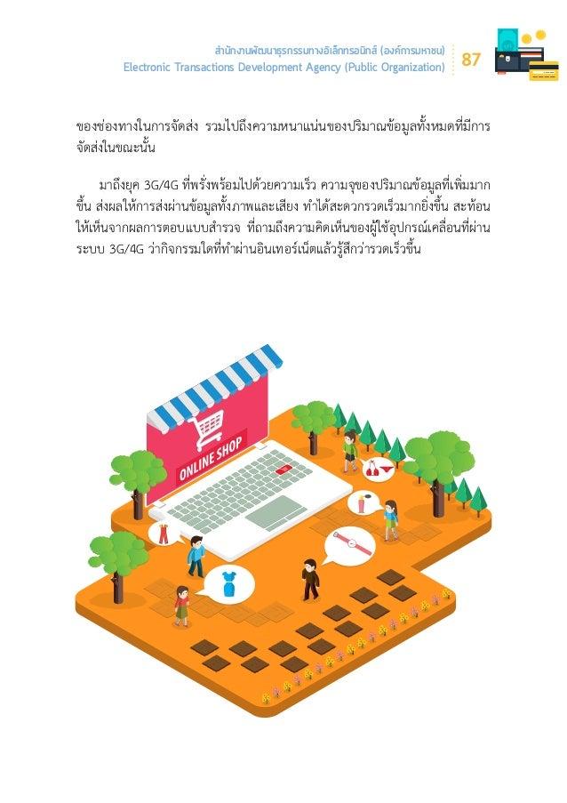 Thailand Internet user Profile 2016