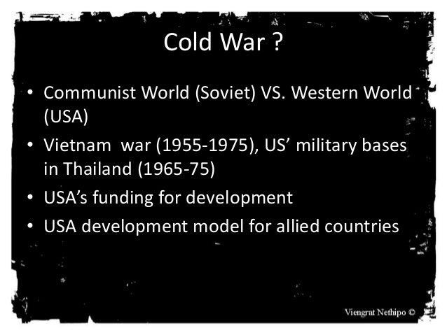 Thailand in the cold war: sarit thanom regime (1957-1973)