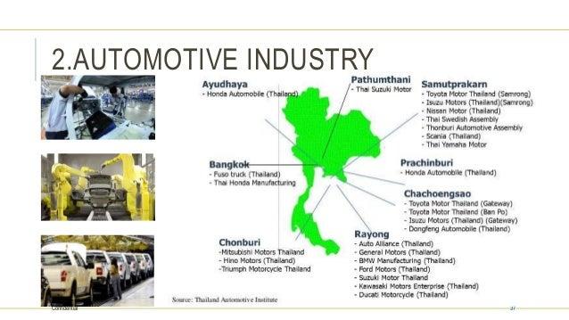 Analysis of japanese fdi in thai automotive industry