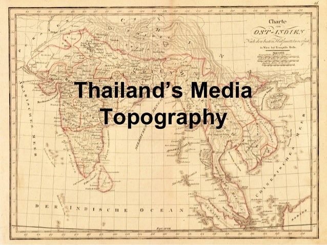 Thailand's Media Topography