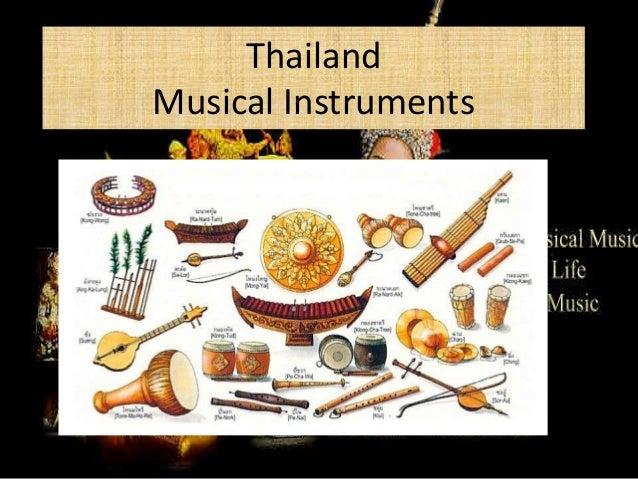 Thailand Music Instrument