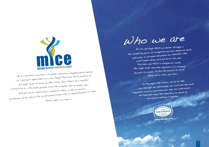 Thailand packages mice brochure by cox and kings solutioingenieria Images