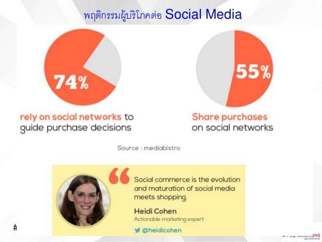 #PaySocialParty พฤติกรรมผู้บริโภคต่อ Social Media