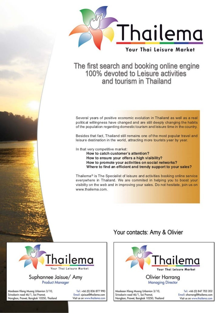 Several years of positive economic evolution in Thailand as well as a realpolitical willingness have changed and are still...