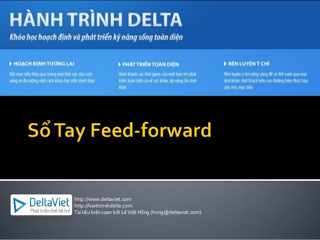 http://www.deltaviet.comhttp://hanhtrinhdelta.comTài liệu biên sọan bởi LêViệt Hồng (hong@deltaviet.com)