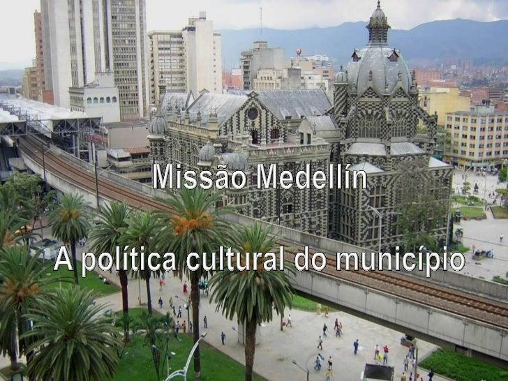 CULTURA NA PERIFERIAOs centros culturais e osparques-biblioteca, localizadosna periferia de Medellín, são oponto alto da p...