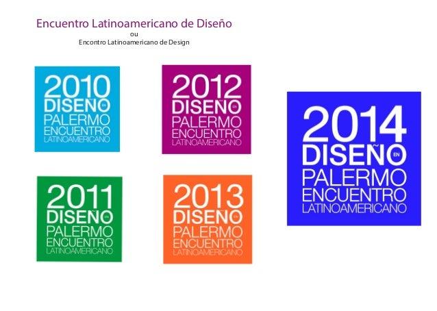 Encuentro Latinoamericano de Diseño ou Encontro Latinoamericano de Design