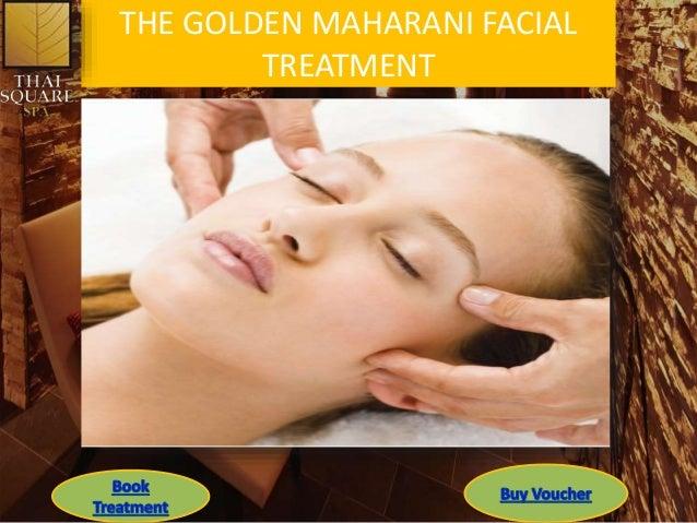 THE GOLDEN MAHARANI FACIAL TREATMENT