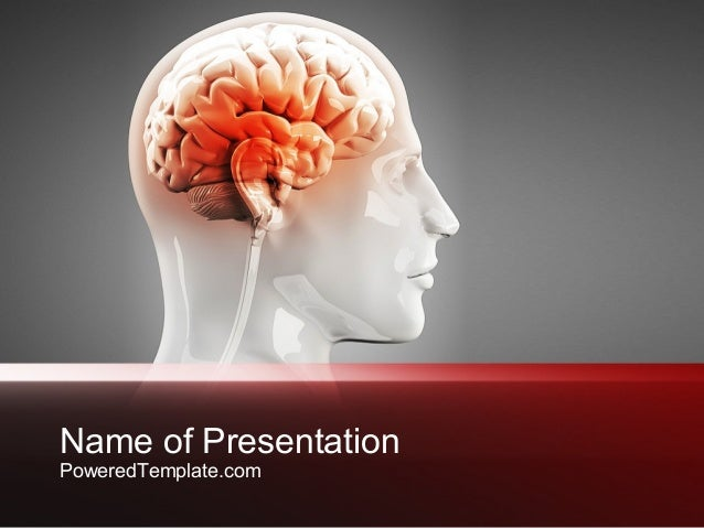 thalamic surface powerpoint template by poweredtemplatecom