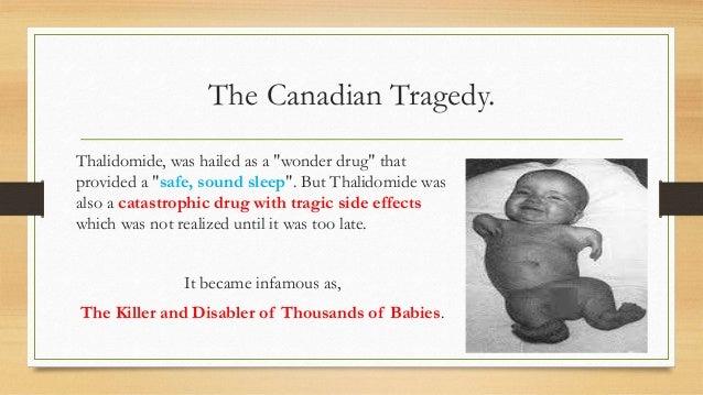 Thalidomide A Phenomenon