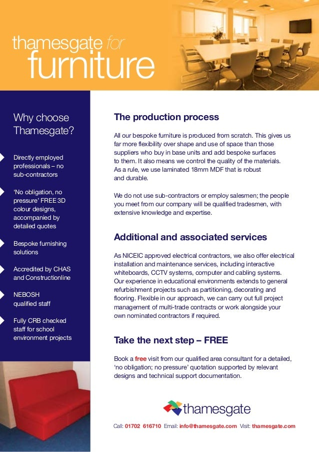 Furniture Services 2 Thamesgate For