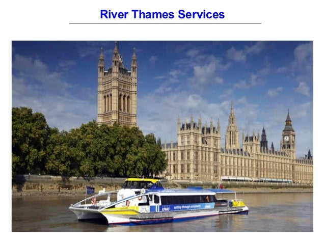 River Thames Services