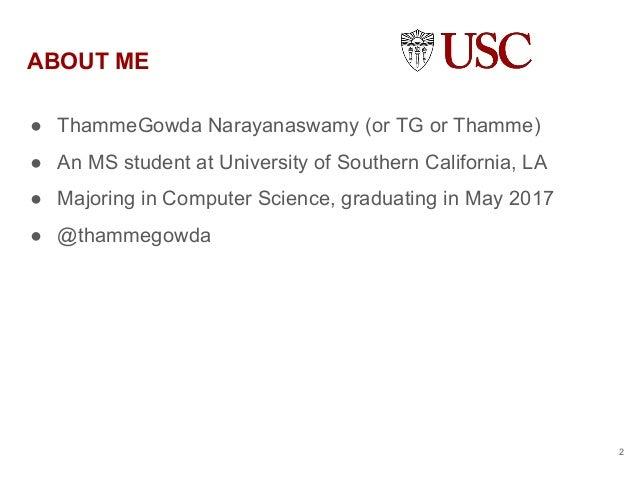 Thamme Gowda's Summer2016- NASA JPL Internship