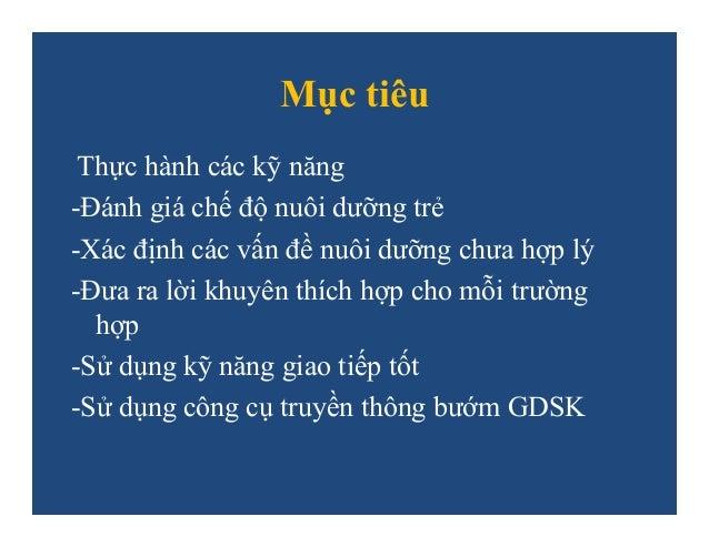 THAM VẤN DINH DƯỠNG CHO BÀ MẸ Slide 2