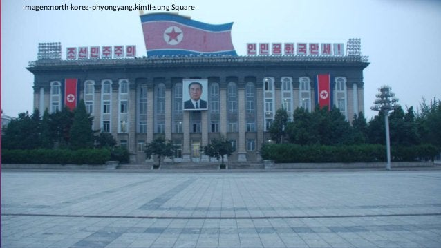 Imagen:north korea-phyongyang,kimII-sung Square