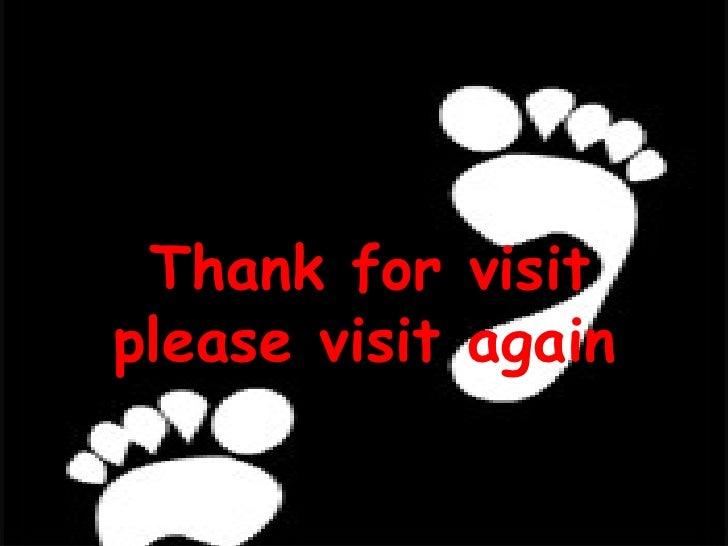 Thank for visit please visit again