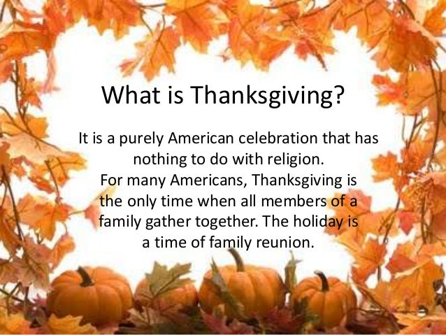 What is the date of thanksgiving
