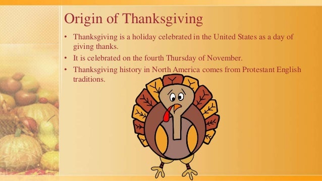 What is the origin of Thanksgiving Day?