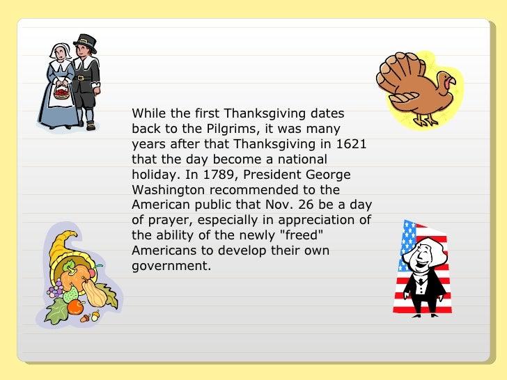 Thanksgiving Traditions Slide 2