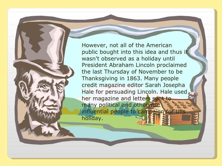 Thanksgiving Traditions Slide 3
