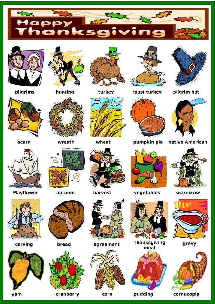 Thanksgiving1   vocabulary