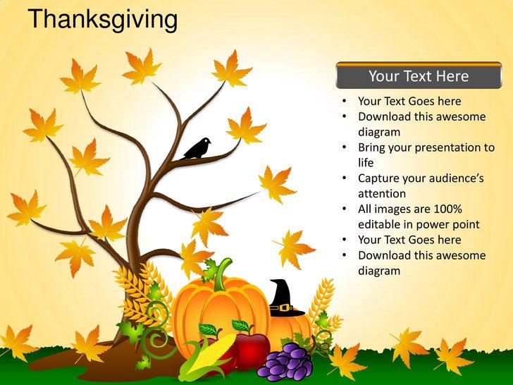 thanksgiving celebrations festivals turkey powerpoint