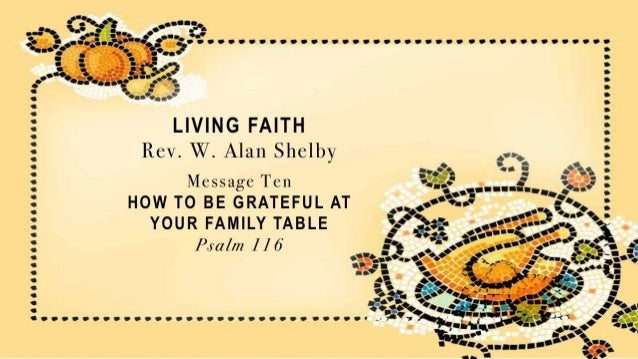 Thanksgiving psalm 116 slides 112413