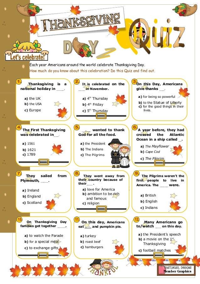 image regarding Thanksgiving Quiz Printable referred to as Thanksgiving quiz