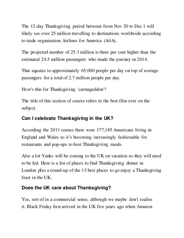 5c5f806b516 Thanksgiving what s the history of the holiday and why does the unite…