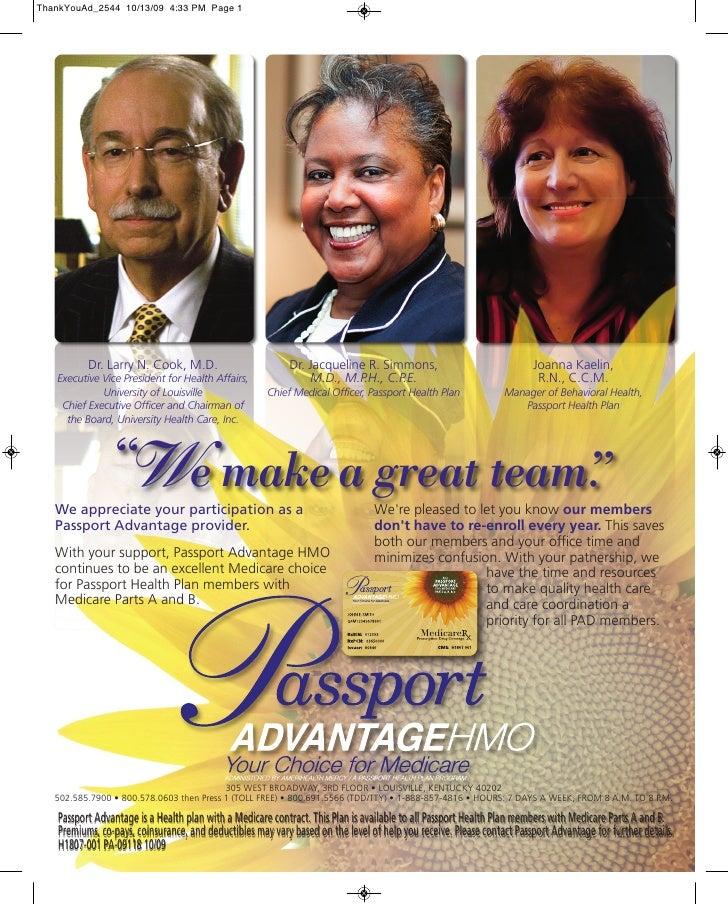 ThankYouAd_2544 10/13/09 4:33 PM Page 1           Dr. Larry N. Cook, M.D.                          Dr. Jacqueline R. Simmo...