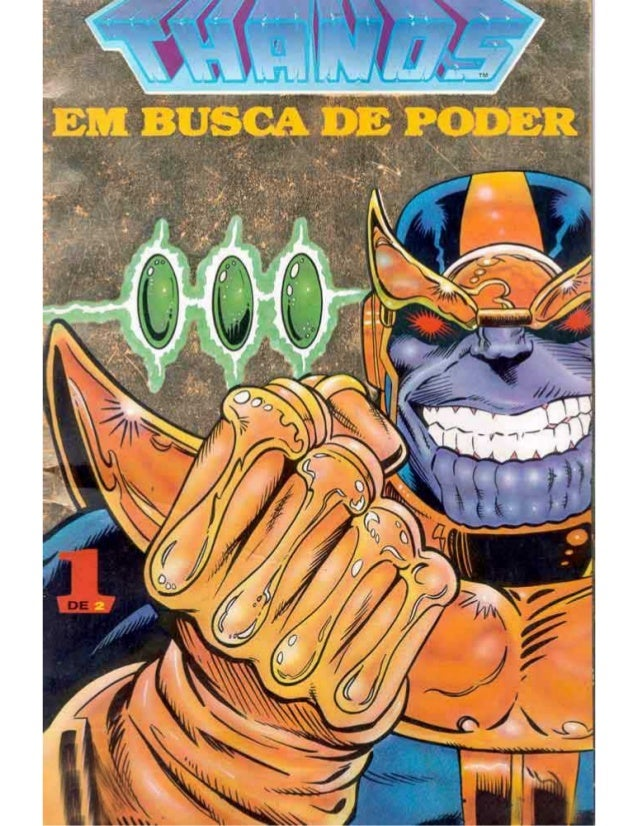 Thanos em busca do poder 1