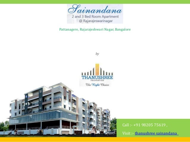 Thanushree Sainandana Pattanagere, Rajarajeshwari Nagar, Bangalore by Thanushree Properties Call :- +91 98205 75619 , Visi...