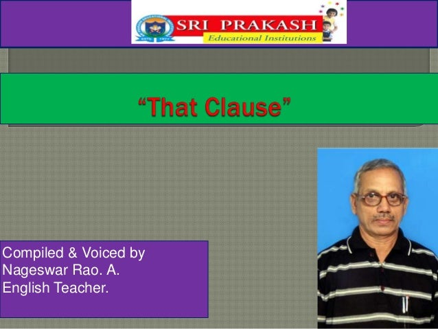 Compiled & Voiced by Nageswar Rao. A. English Teacher.