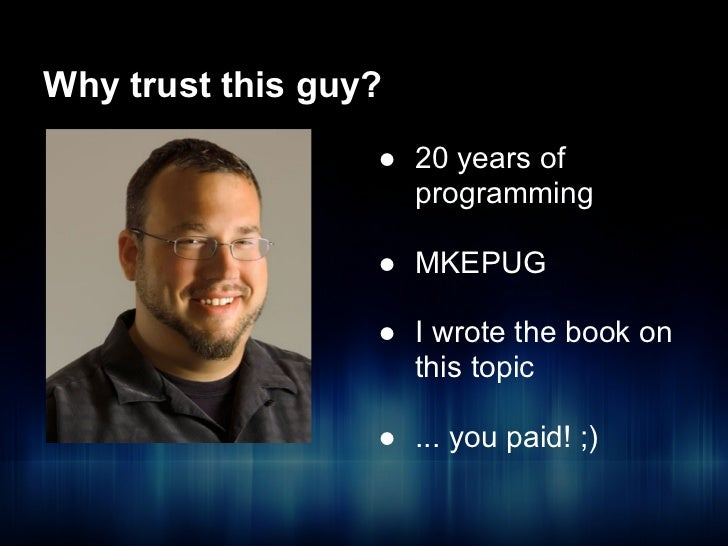 Your first 5 PHP design patterns - ThatConference 2012 Slide 3