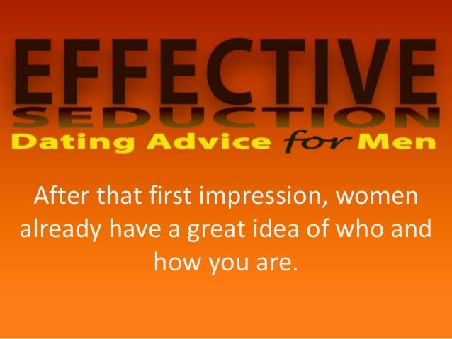 first impression dating tips